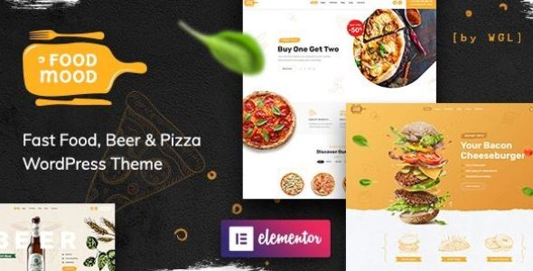 Foodmood v1.1.3 - Cafe & Delivery WordPress Theme