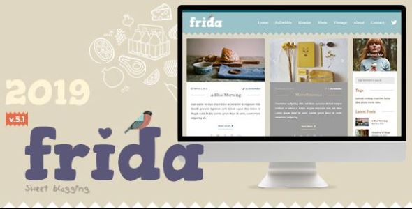 Frida v7.0 - A Sweet & Classic Blog Theme
