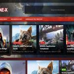 Game X Premium Blogger Template