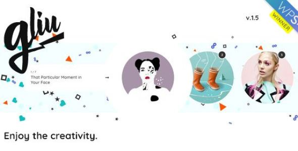 Gliu v3.0 - Enjoy The Creativity WP Theme