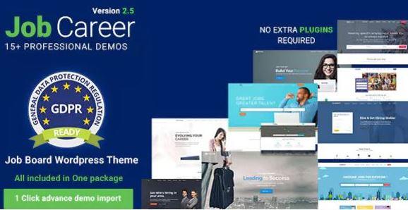 JobCareer v3.7 | Job Board Responsive WordPress Theme