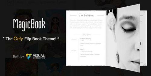 MagicBook v1.2.5 - A 3D Flip Book WordPress Theme
