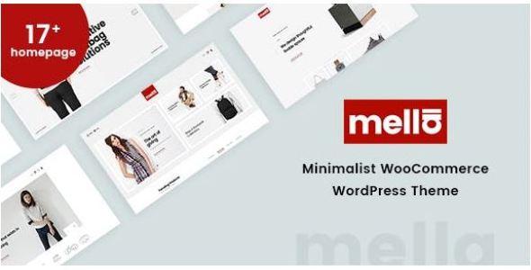 Mella v1.2.19 - Minimalist Ajax WooCommerce WordPress Theme