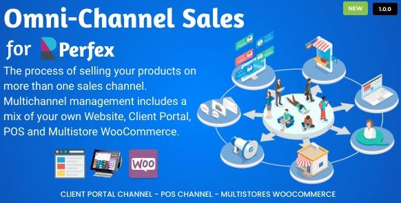 Omni Channel Sales for Perfex CRM