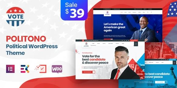 Politono - Political Election Campaign WordPress Theme v1.9