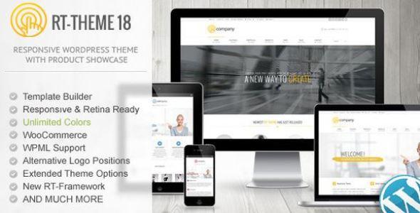 RT-Theme 18 Responsive WordPress Theme v2.3