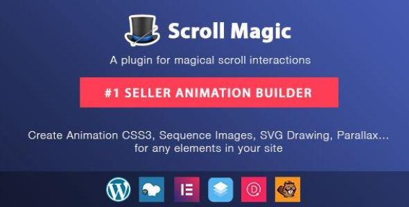 Scroll Magic WordPress v4.1.3 - Scrolling Animation Builder Plugin