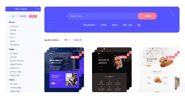 Templately Pro - The Best Elementor Templates for WordPress