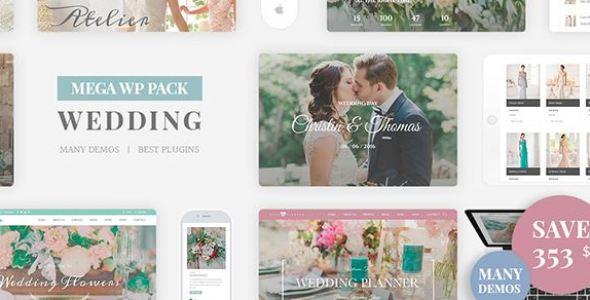 Wedding Industry v4.6 - Wedding Multipurpose Couple WP Theme
