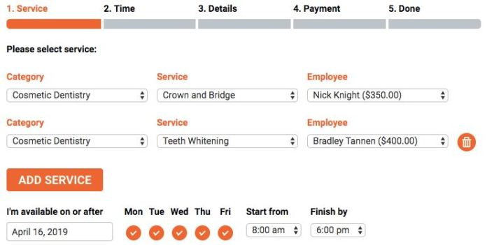 Bookly Chain Appointments (Add-on)
