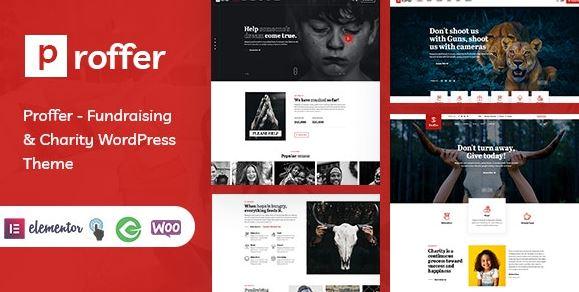 Proformer - Fundraising and Charitable WordPress Themes