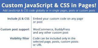 Custom JavaScript & CSS in Pages!