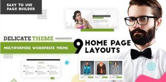 Delicate | Multipurpose WordPress Theme