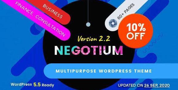 Negotium - Multipurpose Business WordPress Template