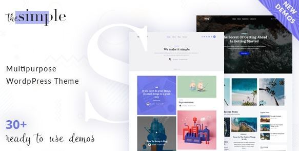 The Simple - Business WordPress Themes