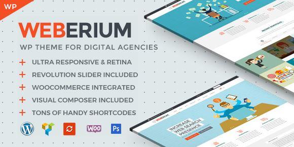 Weberium - Responsive WP Theme Tailored for Digital Agencies