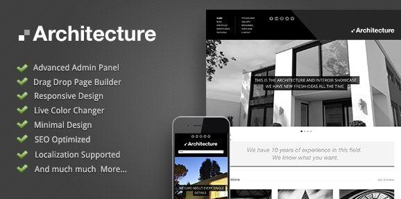 Architecture – WordPress Theme v1.2.0