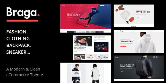 Braga - Fashion Theme for WooCommerce WordPress