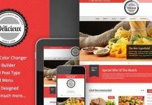 Delicieux - Restaurant WordPress Theme