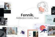 Fennik - Multipurpose Creative WordPress Theme