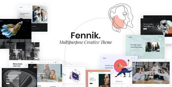 Fennik - Multipurpose Creative WordPress Theme