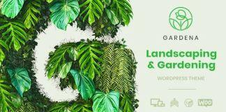 Gardena - Landscaping & Gardening WordPress Theme