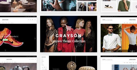 Grayson - Clothing WordPress Shop Theme