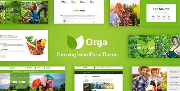 Orga v2.0 – Organic Farm & Agriculture WordPress Theme