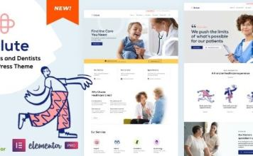 Salute Medical - Elementor WordPress Theme