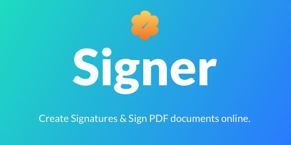 Signer – Create Digital Signatures And Sign PDF Documents Online