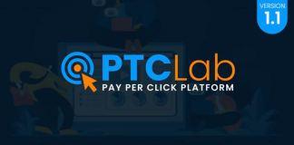 ptcLAB - Pay Per Click Platform