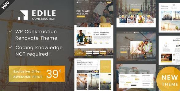 Construction Edile – Construction WordPress Theme
