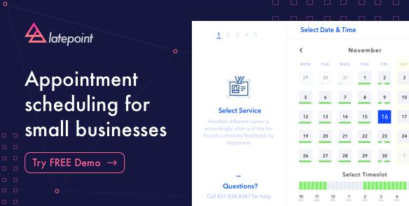 LatePoint v4.2.3 – Appointment Booking & Reservation Plugin for WordPress
