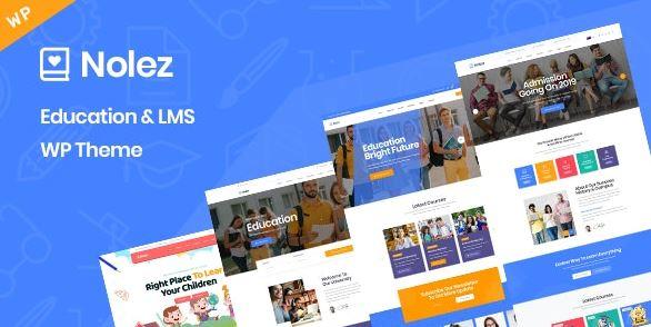 Nolez – Education WordPress Theme