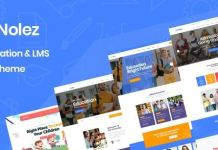 Nolez - Education WordPress Theme