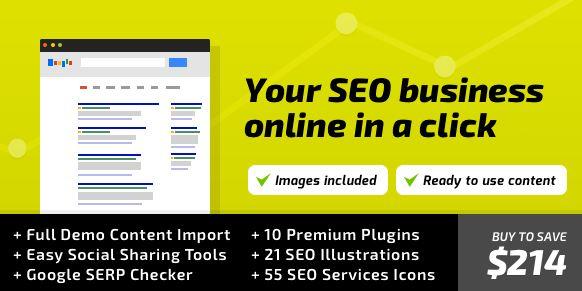 SEOWP - SEO & Digital Marketing WordPress Theme