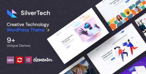 Silvertech - Creative WordPress Theme
