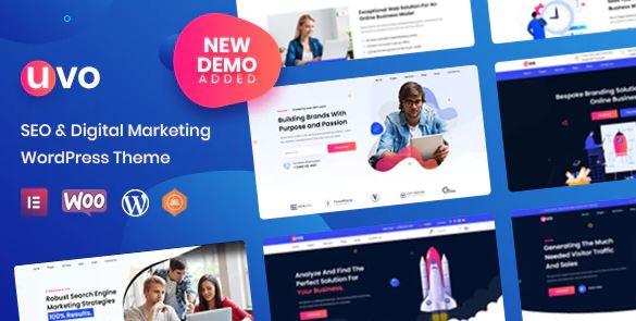 UVO – SEO & Digital Marketing Theme