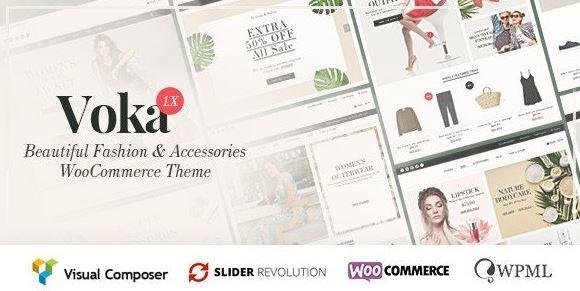 Voka - Fashion Cosmetic & Accessories WooCommerce Theme