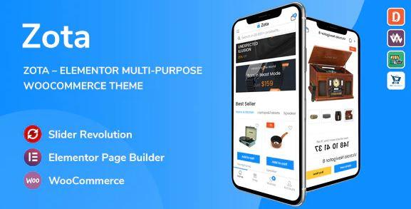 Zotav1.0.1 – Elementor Multi-Purpose WooCommerce Theme