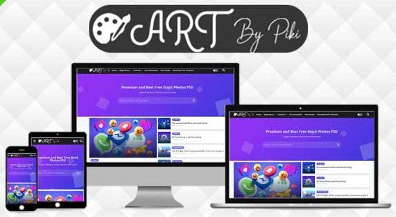 Art - Vector & Responsive Blogger Template