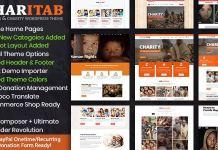 Charitab - Nonprofit Charity WordPress Theme