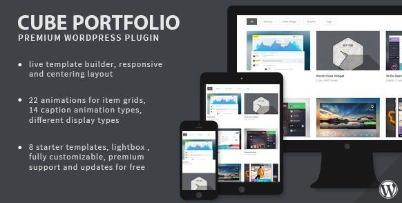 Cube Portfolio - Responsive WordPress Grid Plugin