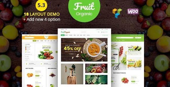 Food Fruit - Organic Farm, Natural RTL Responsive WooCommerce WordPress Theme