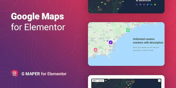 GMP - Google Maps for Element