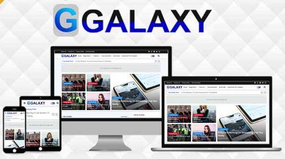 Galaxy - Magazine & Responsive Blogger Template