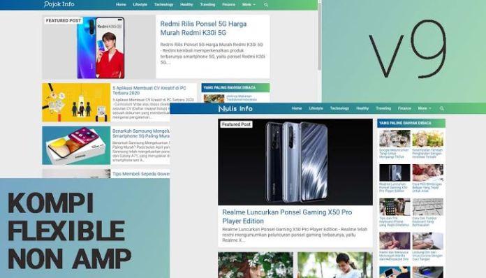 Compliant Flexible-Type List Blogger Template