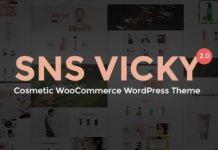SNS Vicky - Cosmetic WooCommerce WordPress Theme