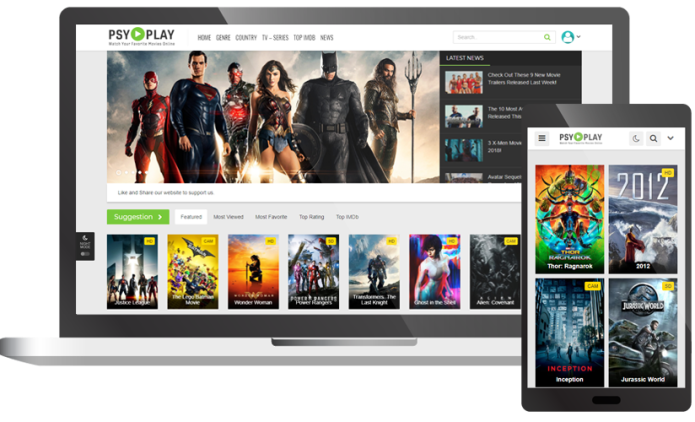 PsyPlay - Theme for Movies & Series