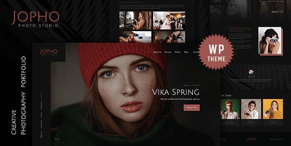 Jopho - Creative Photography WordPress Theme